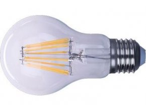 Žiarovka LED E27 8x Filament 230V / 8W, biela