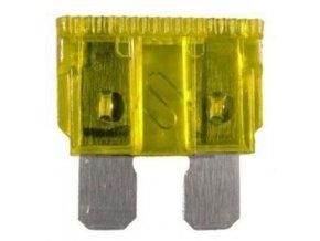 Autopoistky 20A 19x12mm