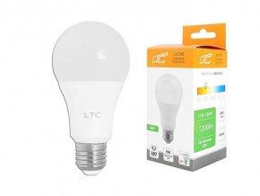 Žiarovka LED A60 E27 hrušková 230V / 15W, teplá biela, LTC