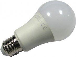 Žiarovka LED E27 A60 hrušková 230V / 12W, teplá biela