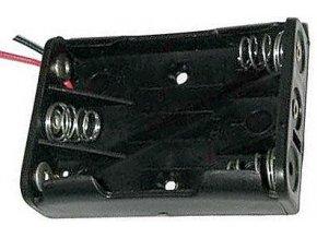 Držiak batérie 3xR03 / AAA / UM4 s vývodmi 15cm