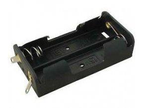 Držiak batérie 2xR6 / AA / UM3 s spájkovacími očkami