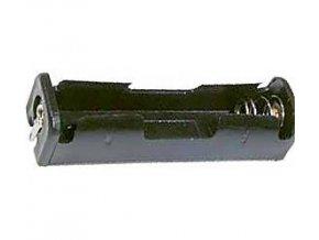 Držiak batérie 1xR6 / AA / UM3 s spájkovacími očkami