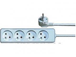 Predlžovací prívod 5m-4x10, 3x1mm2
