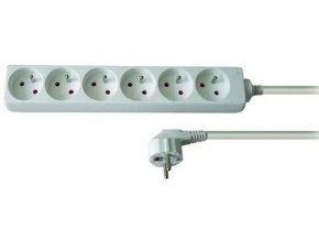 Predlžovací prívod 3m-6x10, 3x1mm2