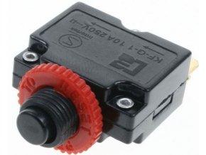 Nadproudový tepelný jistič KF-G-1 250VAC/10A