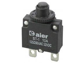 Nadproudový tepelný jistič ST-1 250VAC/10A nebo 32VDC/10A