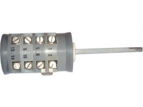 Vačkový spínač VS16 6007 A1, 16A / 380V ~, 7 polôh 30 °