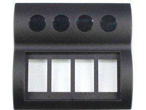 Rámeček pro 4 kolébkové vypínače PN-AP4-BT