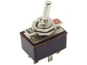 Vypínač páčkový KN3-3, ON-ON 2pol.250V / 2A