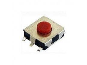 Mikrospínač SMD 6,5x6,5mm v = 2,5mm