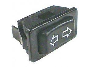 Tlačidlo kolískové ASW-01, (ON) -OFF- (ON) 2pol. 12V / 20A