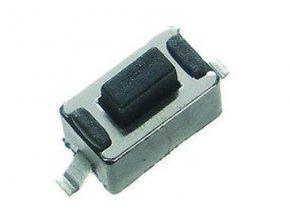 Mikrospínač OFF- (ON) SMD 12V / 50mA 6x3,5 H = 4,3mm TACTRONIC