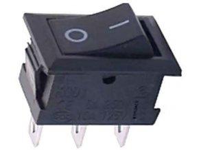 Prepínač kolískový smršte-102-1, ON-ON 1pol.250V / 1A submini