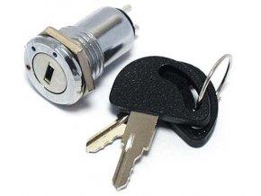 Prepínač s kľúčom OFF-ON-ON 0,5A P-B0961
