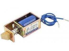 Elektrický zámok JF-S0837DL 12VDC 1A