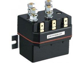 Stýkač 12V / 50A (špičk.350A) ZJWTP50 pre navijaky štvorkoliek