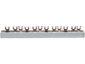 Propojovací lišta k jističům 3 pólová, 3x4kontakty, 3x63A/, l=21cm