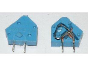 Svorka Wago 236, 0,5 - 2,5 mm2, modrá