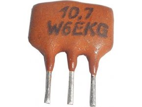 Keramický filter 10,7MHz W6EKG