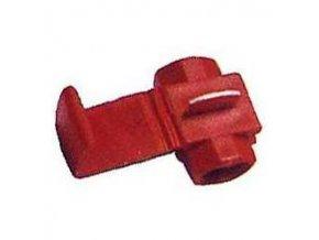 Rýchlospojka paralelné červená, káble 0,25-1,65mm2