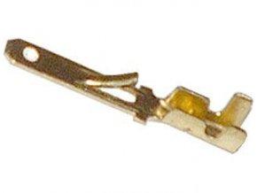 Faston-konektor 2,8mm neizolovaný, kábel do 1mm2