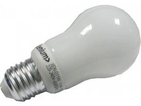 Úsporná žiarovka Xenium, E27, hrušková, teplá biela, 230V / 11W