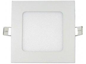 Podhľadové svetlo LED 6W, 120x120mm, biele, 230V / 6W, vstavané