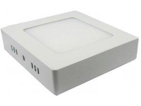 Podhľadové svetlo LED 6W, 120x120mm, teplé biele, 230V / 6W, prisadené