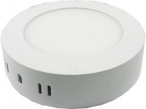 Podhľadové svetlo LED 6W, 120mm, teplé biele, 230V / 6W, prisadené