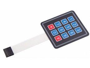 Membránová klávesnice 3x4