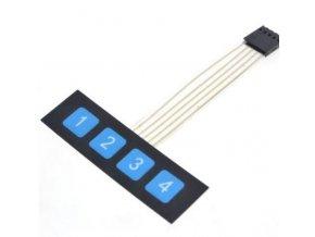 Membránová klávesnice 1x4