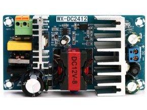 Napájací zdroj-modul WX-DC2412 100-265VAC / 12VDC 8A