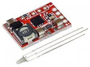 Nabíjačka Li-Ion alebo LiFePO4 článku 1A s ochranou, modul s IO TP5000