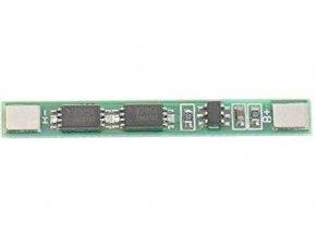 Ochranný obvod pre 1 Li-Ion článok 18650, prúd do 2A