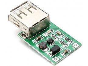 Napájací modul, step-up menič 5V / 600mA mini