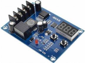 Nabíjací kontrolér pre Pb, Li-Ion i Ni-MH batérie, modul XH-M603