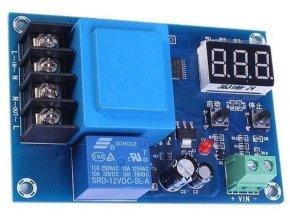 Nabíjací kontrolér pre Pb, Li-Ion i Ni-MH batérie, modul XH-M602