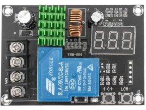 Nabíjecí kontrolér pro Pb, Li-Ion i Ni-MH baterie, modul VHM-004