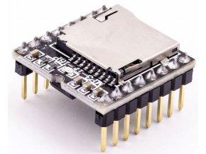 Prehrávač MP3 mini MP3-TF-16P pre Arduino