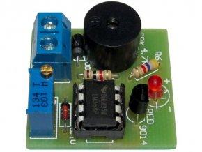 Signalizácia vybité batérie 12V - STAVEBNICA