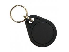 RFID prístupový čip 125kHz prepisovateľný, prívesok, čierny