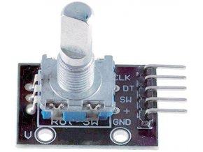 Rotačný encoder s tlačidlom KX-040 - pre Arduino