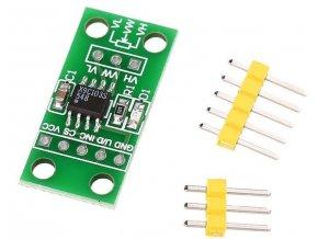 Digitálny potenciometer 10kOhm, modul s X9C103S