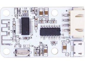 Bluetooth prijímač a zosilňovač 2x3W, napájanie USB 5V