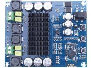 Bluetooth prijímač a zosilňovač 2x120W, modul XH-M548