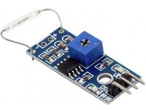 Magnetický snímač s jazýčkovým kontaktom - modul pre Arduino