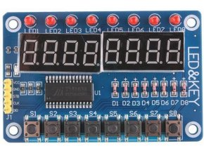 Ovládací panel TM4638 pro Arduino