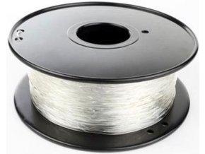 Tlačová struna 1,75mm natural - prírodný, materiál ABS, cievka 1kg / 3D