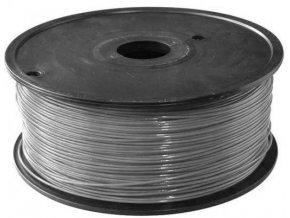 Tlačová struna 1,75mm sivá, materiál ABS, cievka 1kg / 3D tlač /